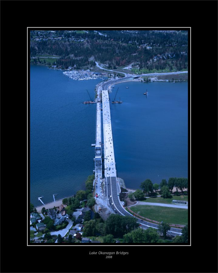 LAKE OKANAGAN BRIDGES - 2008