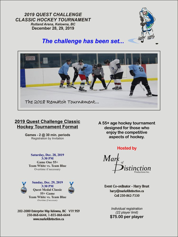 2019 Quest  Challenge Classic Tournament